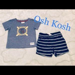 Osh Kosh Boys Summer Set. Size 0
